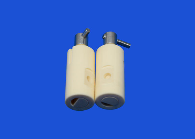 High Precision Customized white 95%-99.99% Alumina Zirconia Ceramic Piston/Plunger For Pump